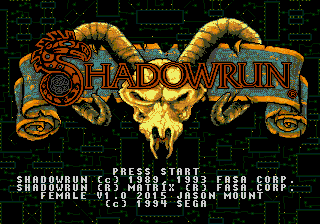 Play <b>Shadowrun Female Player</b> Online